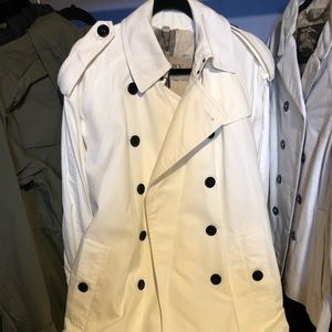 Burberry Brit White Trench Coat